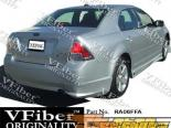 Накладка на задний бампер для Ford Fusion 06-09 Atomic VFiber