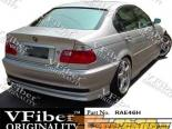 Задний бампер на BMW E46 99-05 Type H VFiber
