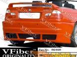 Задний бампер для BMW E46 99-05 Reymer VFiber