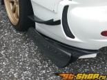 R Magic задний Under|диффузор 01 Type A - Карбон - Mazda RX-7 FD3S 93-02