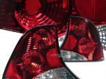 Задние фары на FORD FOCUS 00-04 Тёмный красный