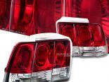 Задняя оптика на FORD MUSTANG 99-04 Тёмный красный