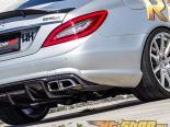 RennTech нержавеющий Sport Mufflers Mercedes-Benz CLS63 AMG 5.5L Bi-Turbo 12-13
