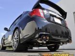ARK нержавеющий DT-S Выхлоп выхлоп with Quad Tip Tecno Subaru WRX STI седан 11-14