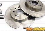 SR Factory Large задний тормозной Rotor комплект Slotted Nissan 240SX S13 89-94