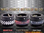 NRG Чёрный Body Чёрный 3D Ring Gen 2.0 Quick Release универсальный