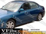 Обвес по кругу на Hyundai Elantra 04-06 Omega VFiber