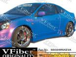 Пороги для Acura RSX 02-06 Z1000 VFiber