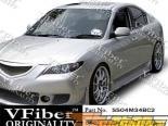Пороги на Mazda 3 04-08 BC2 VFiber