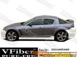 Пороги на Mazda RX8 04-08 Raven VFiber