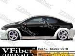 Пороги на Scion TC 05-09 GTR VFiber