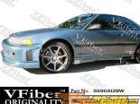 Пороги для Acura Integra 90-93 Spyder VFiber