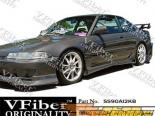 Пороги на Acura Integra 90-93 Kombat VFiber