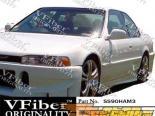 Пороги на Honda Accord 90-97 M3 VFiber