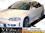 Обвес по кругу на Honda Civic 92-95 Octane VFiber