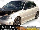 Обвес по кругу на Honda Civic 92-95 Blits VFiber
