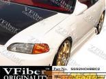 Аэродинамический Обвес на Honda Civic 92-95 BC2 VFiber