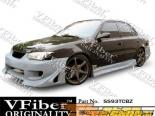 Пороги для Toyota Corolla 93-02 Blits VFiber