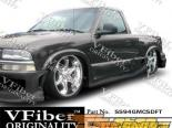 Пороги для GMC Sonoma 94-04 Drift VFiber