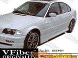 Пороги для BMW E46 99-05 TypeH VFiber