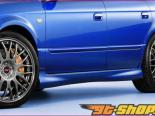 STi Side Step 01 - Brand Painted Subaru Legacy седан B4 00-04