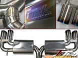 TiTek Титан выхлоп Subaru WRX Sti 08-10
