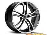 Savini Чёрный di Forza-BM6 Диски 22x10.5