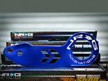 NRG Anodized Синий задний Tow Hook универсальный