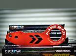 NRG Anodized Красный задний Tow Hook универсальный