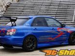 Voltex Side Skirt Subaru WRX STi 02-07