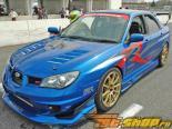 Voltex FRP GT капот Subaru WRX STi 02-07