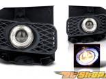 Противотуманная оптика для Ford F150 99-03 Halo Projector Smoke