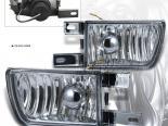Противотуманная оптика на VOLKSWAGEN GOLF 93-98 комплект Хром