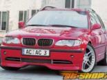 Губа на передний бампер AC Schnitzer на BMW 3 Series E46 седан|Touring 2001-2005