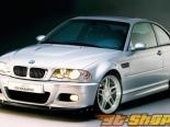 Элероны на передний бампер AC Schnitzer на BMW 3 Series E46 M3 2001-2005