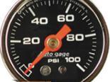 Autometer AutoGage 1 1/2 давления топлива 0-100 Датчик