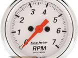 Autometer Arctic Белый 2 1/16 тахометр 7000 RPM