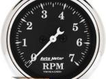 Autometer Old Tyme Чёрный 2 1/16 тахометр 7000 RPM