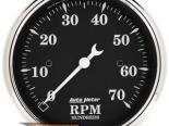 Autometer Old Tyme Чёрный 3 1/8 тахометр 7000 RPM