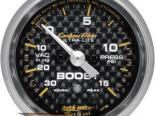 Autometer Карбоновый 2 1/16 Boost 15 PSI/Vacuum Датчик