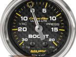 Autometer Карбоновый 2 1/16 Boost 20 PSI/Vacuum Датчик