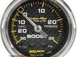 Autometer Карбоновый 2 1/16 Boost 30 PSI/Vacuum Датчик