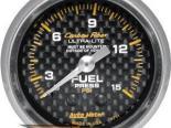 Autometer Карбоновый 2 1/16 давления топлива 0-15 Датчик