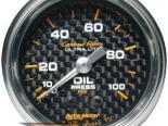 Autometer Карбоновый 2 1/16 давление масла Датчик