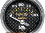 Autometer Карбоновый 2 5/8 давление масла Датчик