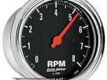 Autometer Traditional Хром 3 3/8 тахометр 8000 RPM