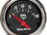 Autometer Traditional Хром 2 1/16 давление масла Датчик