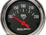 Autometer Traditional Хром 2 1/16 температуры масла 100-250 Gaug