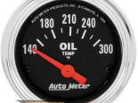 Autometer Traditional Хром 2 1/16 температуры масла 140-300 Gaug