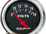 Autometer Traditional Хром 2 1/16 вольтметр Датчик